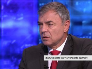 Сергей Игнатов: Заложеното двойно увеличение на учителските заплати е една добра стъпка
