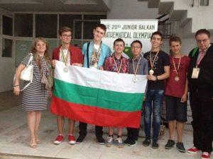 Български ученици с отличия на олимпиада по математика в Румъния