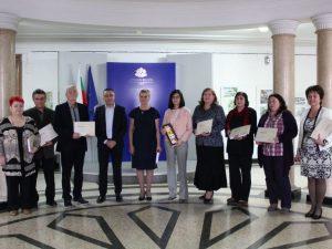 """8 учители получиха наградата на МОН """"Константин Величков"""""""