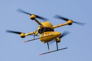 DHL извърши първите доставки с дрон