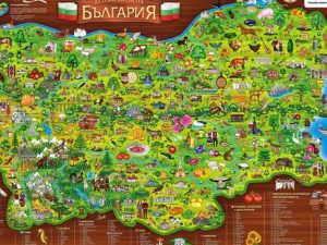 Карта на професионалните гимназии в България