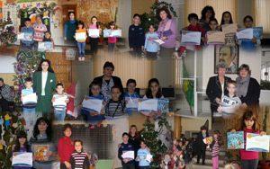 Отличени ученици от първи кръг на състезанието IT Знайко