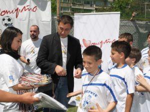 """Министър открива програма """"Спорт за децата в свободното време"""""""