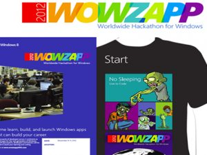 Microsoft обяви началото на WOWZAPP 2012: глобално събитие за създаване на Windows 8 приложения