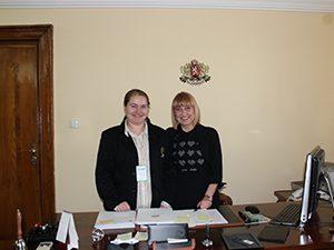 Министърът посети гимназия във Видин