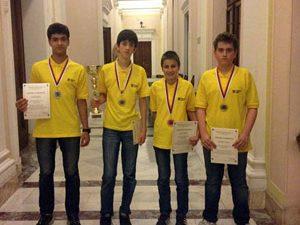 Български ученици се върнаха с медали от Белград