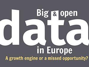 Големи бази данни и данни с отворен достъп: Потенциал за ръст от 206 милиарда евро за ЕС до 2020 г.