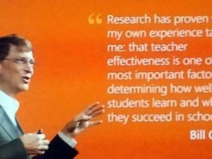 Бил Гейтс: Образованието е основно човешко право и най-важната инвестиция в бъдещето!