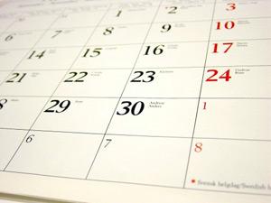 Ясни са официалните почивните дни за 2012 година