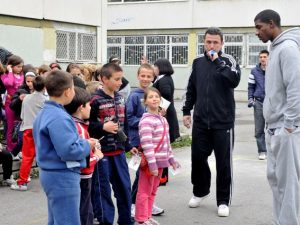 "Баскетболисти станаха учители в инициативата ""Аз обичам спорта"""