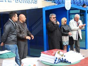 Откриха училищен футболен турнир в Бургас