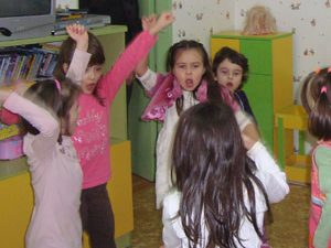 Направленията в предучилищното образование са паралелни на предметите в училище