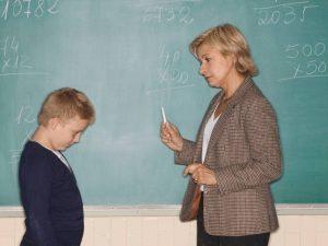 Учителка ударила хиперактивно дете?