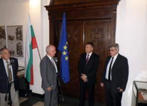 Министърът приветства новия председател на БАН