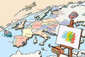 Деца рисуват Европа