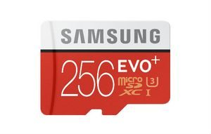 Samsung пуска microSD карта с капацитет 256GB