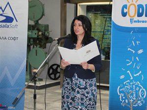 Петя Евтимова поздрави призьорите в конкурса по програмиране CodeIT