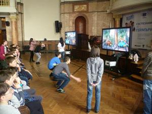 Състезание за геймъри с Microsoft Kinect