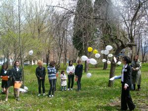 Пернишко училище с пърформънс за Деня на Земята