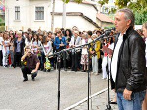 Христо Стоичков откри учебната година в Ловеч