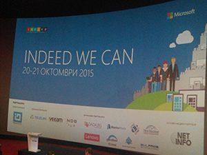 Microsoft представи най-доброто от образованието на INDEED WE CAN