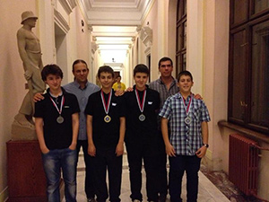 Един златен и три сребърни медала от Белград за български информатици