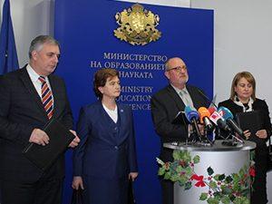 МОН и МТСП подписаха споразумение