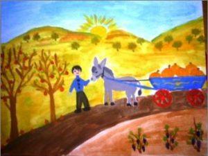 "Национален конкурс за детска рисунка ""Българските народни приказки – извор на мъдрост и доброта"""