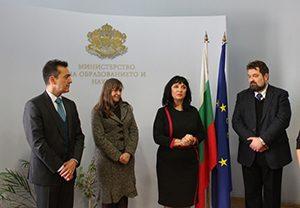 Зам.-министър и посланик връчиха сертификати за билингвално франкофонско обучение