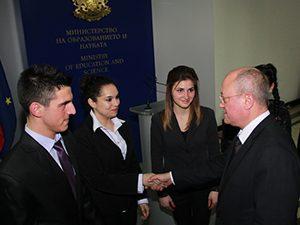 Веселин Веселинов беше министър за един ден