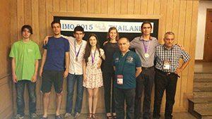 Три медала за българските математици в Чианг Май