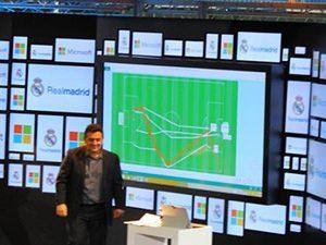 Microsoft дигитализира Реал Мадрид