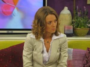 Милена Дамянова на държавния изпит на Професионалната гимназия по туризъм