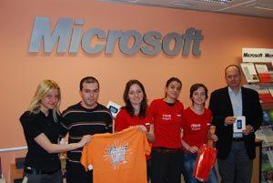 Майкрософт България награди представителите ни на световните финали на Imagine Cup 2010