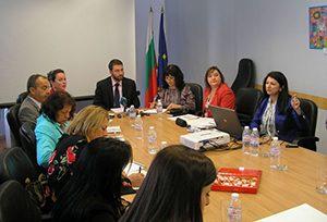Проведе се заседание на Направляващия комитет по проекта за въвеждане на дуалното обучение