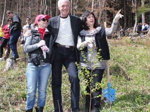 Николай Милошев засади дръвче край Драгалевци