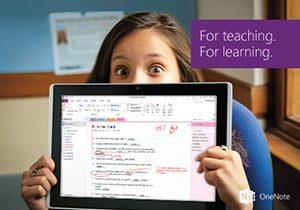 Microsoft отваря за свободно ползване нови образователни инструменти за OneNote