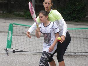 Тенис звезда стана учител за един ден