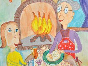 """Конкурс за детски рисунки """"Рецептите на баба"""""""