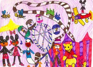"""Конкурс за рисунка """"Приказките'2015"""""""