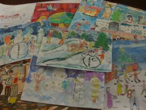"""Конкурс за рисунка """"Коледни вълшебства"""""""