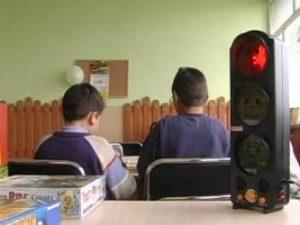 Любопитно: Светофар респектира в клас