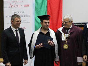 Сергей Игнатов връчи дипломи на колежани