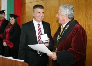 Министърът празнува с Минно-геоложкия университет