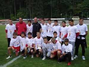 Лазар Каменов и Христо Стоичков дадоха старт на финалния футболен турнир от ученическите игри