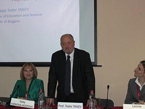 Министър Танев откри конференция за ползването на технологиите в образованието