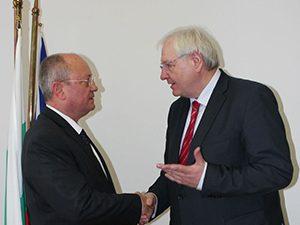 Министърът се срещна с посланика на Германия
