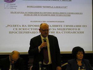 Проф. Танев: Професионалните гимназии по селско стопанство трябва да са привлекателни за учениците