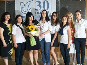 """Ваня Кастрева връчи наградата """"Любим учител"""" в Благоевград"""