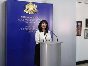 """Ваня Кастрева връчи наградите """"Константин Величков"""""""